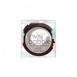 Invisibobble CLICKY BUN Pretzel Brown - Заколка для волос, 1шт