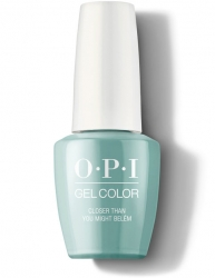 OPI Lisbon Gel Color - Гель-Лак для ногтей Closer Than You Might Belém, 15 мл