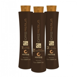 Honma Tokyo Coffee Premium All Liss - Набор Coffee Premium, 3*200 мл