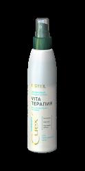 Estel Curex Therapy - Двухфазный лосьон-спрей интенсивное восстановление для повреж.волос, 200 мл