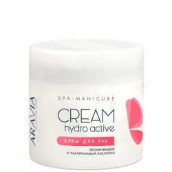 """Aravia Professional - Крем для рук увлажняющий """"Hydro Active"""" с гиалуроновой кислотой, 300 мл"""