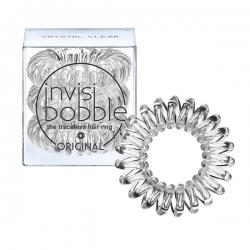 Invisibobble ORIGINAL Crystal Clear - Резинка-браслет для волос, 3шт