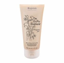 Kapous Professional Pre Treatment - Абсорбирующая грязевая паста для жирной кожи головы серии, 150 мл