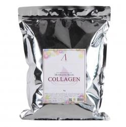 Anskin Collagen Modeling Mask - Маска альгинатная с коллагеном укрепляющая, 1000 мл
