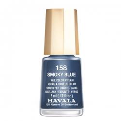 Mavala - Лак для ногтей тон 158 Морская синева Smoky Blue, 5 мл
