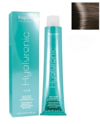 Kapous Hyaluronic Acid 7.1 - Стойкая крем-краска с гиалуроновой кислотой 7.1  блондин пепельный, 100 мл
