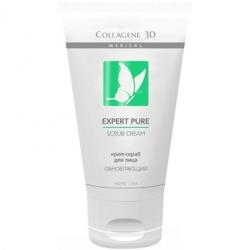 Medical Collagene 3D Expert Pure Scrub Cream - Крем-скраб для лица обновляющий 75мл