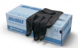 Ardl NitriMax - Нитриловые перчатки  Черные  размер М, 1 пара