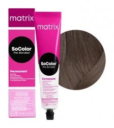 Matrix SoColor Pre-Bonded - Крем-краска перманентная Соколор Бьюти 5N светлый шатен 90 мл
