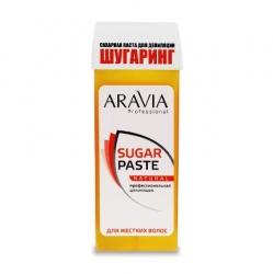 """Aravia Professional - Сахарная паста для депиляции в картридже """"Натуральная"""" мягкой консистенции, 150 г"""