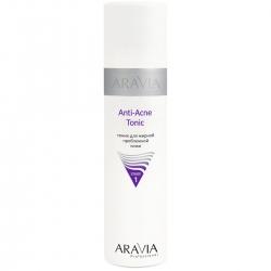 Aravia Professional - Тоник для жирной проблемной кожи Anti-Acne Tonic, 250 мл