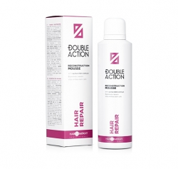 Hair Company Double Action Reconstruction Mousse - Восстанавливающий мусс , 200 мл