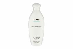 Klapp Clean&Active Cleansing Lotion - Мягкое очищающее молочко с травами, 250 мл