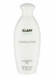 Klapp Clean&Active Cleansing Gel - Очищающий гель для жирной и комбинированной кожи, 75 мл