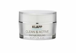 Klapp Clean&Active Enzyme Peeling - Энзимная маска-пилинг для всех типов кожи, 50 мл