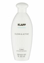Klapp Clean&Active Tonic Without Alcohol - Тоник без спирта для любого типа кожи, 1000 мл