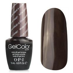 Opi GelColor Great is Your Dane, - Гель-лак для ногтей, 15мл