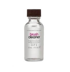 OPI Natural Brush Cleaner - Жидкость для отмачивания кисточек от акрилата, 30 мл