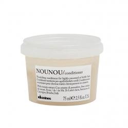 Davines Essential Haircare NouNou Nourishing illuminating cream - Питательный кондиционер 75 мл