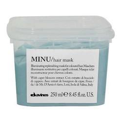 Davines Essential Haircare Minu Hair Mask - Восстанавливающая маска для окрашенных волос, 250 мл