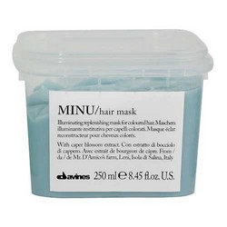 Davines Essential Haircare Minu Hair Mask - Восстанавливающая маска для окрашенных волос, 250 мл