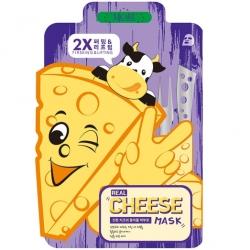 Mijin Real Cheese Firming & Lifting Mask - Маска тканевая Увлажняющая, 25 гр