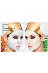 Double Dare OMG! Honey Milk Drop - Двухкомпонентный комплекс масок Глубокое очищение и увлажнение