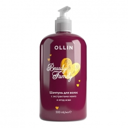 Ollin Beauty Family Mango Shampoo - Шампунь для волос с экстрактами манго и ягод асаи, 500мл