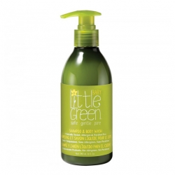 Little Green Baby Shampoo & Body Wash - Шампунь и гель для тела, без слез  240мл
