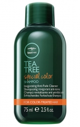 Paul Mitchell Tea Tree Special Color Shampoo - Шампунь с маслом чайного дерева для окрашенных волос, 75мл