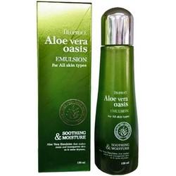 Deoproce Aloe Vera Oasis Emulsion - Эмульсия для лица с экстрактом алое вера, 150 мл