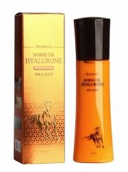 Deoproce Horse Oil Hyalurone Emulsion  - Эмульсия с лошадиным жиром и гиалуроновой кислотой, 150 мл