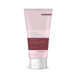 Dermal Cherry  Blossom Soft White Cleanser -  Пенка для умывания с вишней, 150 гр