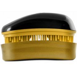 Dessata Hair Brush Mini Black-Gold - Расческа для волос, Черный-Золото