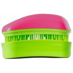 Dessata Hair Brush Mini Fuchsia-Lime - Расческа для волос, Фуксия-Лайм