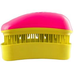 Dessata Hair Brush Mini Fuchsia-Yellow - Расческа для волос, Фуксия-Желтый