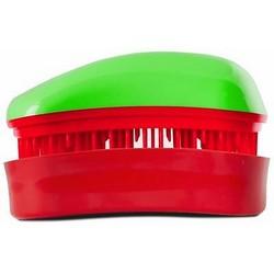 Dessata Hair Brush Mini Green-Cherry - Расческа для волос, Зеленый-Вишня