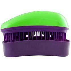 Dessata Hair Brush Mini Green-Purple - Расческа для волос, Зеленый-Фиолетовый