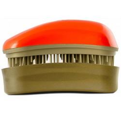 Dessata Hair Brush Mini Orange-Old Gold - Расческа для волос, Оранжевый-Старое Золото