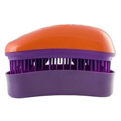 Dessata Hair Brush Mini Orange-Purple - Расческа для волос, Оранжевый-Фиолетовый