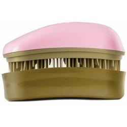 Dessata Hair Brush Mini Pink-Old Gold - Расческа для волос, Розовый-Старое Золото