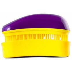 Dessata Hair Brush Mini Purple-Yellow - Расческа для волос, Фиолетовый-Желтый