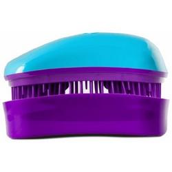 Dessata Hair Brush Mini Turquoise-Purple - Расческа для волос, Бирюзовый-Фиолетовый