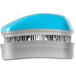 Dessata Hair Brush Mini Turquoise-Silver - Расческа для волос, Бирюза-Серебро
