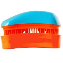 Dessata Hair Brush Mini Turquoise-Tangerine - Расческа для волос, Бирюза-Мандариновый