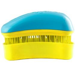 Dessata Hair Brush Mini Turquoise-Yellow - Расческа для волос, Бирюзово-Желтый