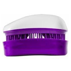 Dessata Hair Brush Mini White-Purple - Расческа для волос, Белый-Фиолетовый