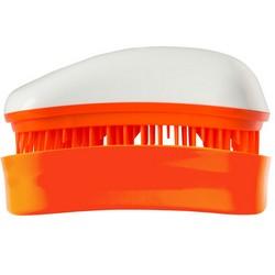 Dessata Hair Brush Mini White-Tangerine - Расческа для волос, Белый-Мандариновый