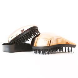 Dessata Kit Bronze Bright-Black - Набор Расчесок для волос: Оригинал + Мини, Бронза
