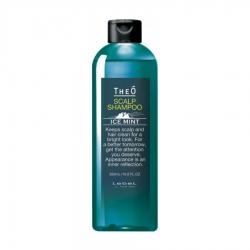 Lebel Theo Scalp Shampoo Ice Mint - Шампунь мужской многофункциональный Ледяная мята 320 мл